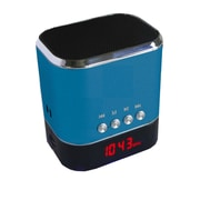 Supersonic® SC-1325 Portable Rechargeable MP3 Speaker With FM Radio/LED Display, Blue