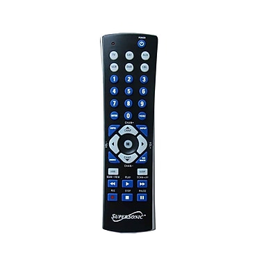 Supersonic® SC-26 Universal Remote Control, Black