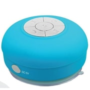 Supersonic® SC-1364BT Portable Bluetooth Rechargeable Shower Speaker, Blue