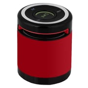 Supersonic® SC-1361BT Portable Bluetooth Rechargeable Speaker With FM Radio, Red