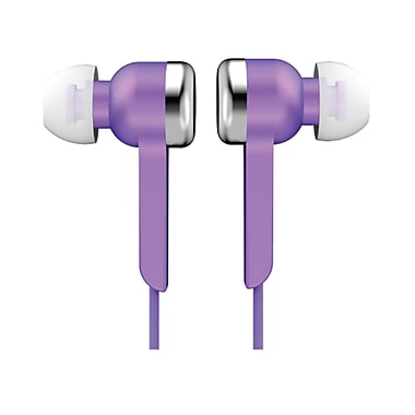 Supersonic IQ-113PURPLE Digital Stereo Earphone, Purple