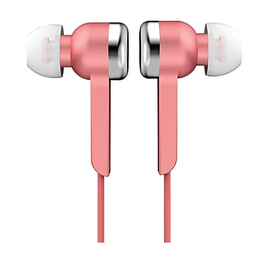 Supersonic IQ-113PINK Digital Stereo Earphone, Pink