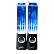 Supersonic® SC-1122 Dancing Water Speakers, Black
