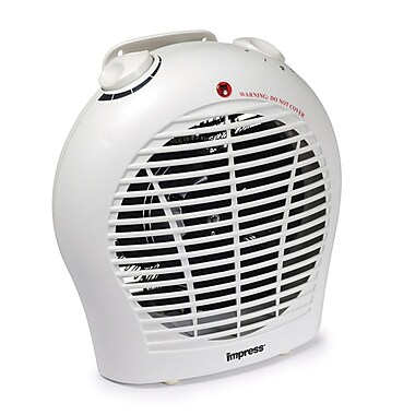 Impress IM-702 1500 W 2 Speed Fan Heater With Adjustable Thermostat
