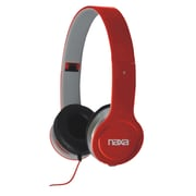 Naxa® NE-930 Flash Headphones, Red