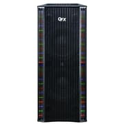 QFX® SBX-410202BT Bluetooth Tower Cabinet Speaker With Built-in Amplifier, 2 x 10 Woofer