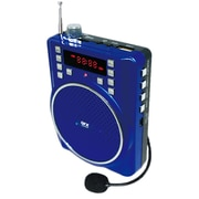 QFX® CS-84 Portable PA System With 1200 mAh Battery, Blue