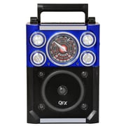 QFX® CS-144 Karaoke Multimedia Speakers AM/FM/SW1-2 Band