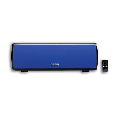 Craig® Stereo Speaker Bar With Bluetooth Wireless Technology, Blue