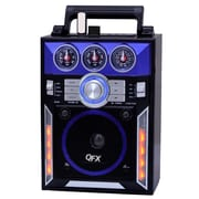 QFX® CS-145 Karaoke Multimedia Speakers AM/FM/SW1-2 Band/Disco Light