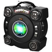 QFX® CS-153 Portable Speaker With AM/FM/SW 1-2 4 Band Radio, Black