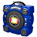 QFX® CS-153 Portable Speaker With AM/FM/SW 1-2 4 Band Radio, Blue