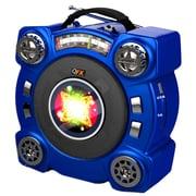 QFX® CS-153 Portable Speaker With AM/FM/SW 1-2 4 Band Radio, Blue