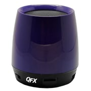 QFX® BT-106 Bluetooth Speaker With Microphone, Blue