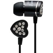 QFX® H-14 Lightweight Stereo Earbuds, Black