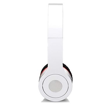 Craig CHP5009WH Foldable Stereo On-Ear Headphone, White