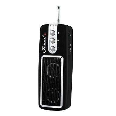 Zenex® ZN-SP5570 Portable Media Player With Built in FM Radio and Dynamic Speaker