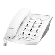 Zenex ZN-TP5747 Big Buttons Speaker Corded Office Telephone, White