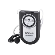 Craig® CR4116 Pocket Radio, Black