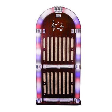 Craig CHT935BT Jukebox Speaker System With Color Changing Lights/Bluetooth Wireless Technology