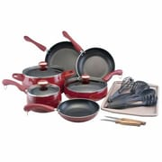 Paula Deen® Signature 17 Piece Aluminum Nonstick Cookware Set