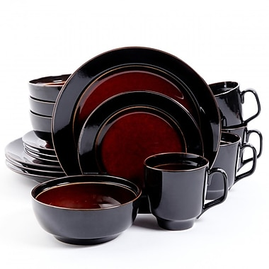 Gibson Home Bella Galleria Dinnerware Set, 16 Piece