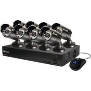 Swann™ DVR8-1000 8 Channel D1 Digital Video Recorder With 8 x PRO-530 Cameras