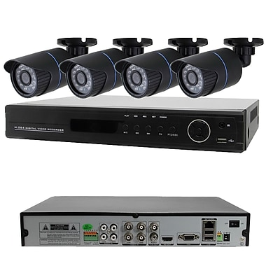 Avemia® 4CH-COMBO 4 Channel 960H Real Time Standalone DVR With 4 Nightvision Bullet Cameras
