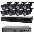 Avemia® 8CH-COMBO 8 Channel 960H Real Time Standalone DVR With 8 Nightvision Bullet Cameras