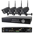 Avemia® 2.4 GHz Digital Wireless Multi Channels DVR & Cameras Kit