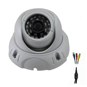 Avemia® CMDM182 HD-SDI Night Vision Weather Proof Dome Camera, White