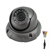 Avemia® CMDM183 HD-SDI Night Vision Weather Proof Vari-focal Dome Camera, Black