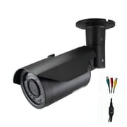 Avemia® CMBM161 HD-SDI Night Vision Weather Proof Vari-focal Bullet Camera, Black
