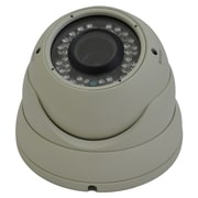 Avemia® CMDW096 Night Vision Weather Proof Vari-focal Dome Camera, Beige