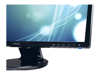 "Asus VE228H 21.5"" LED-Backlit LCD Monitor, Black"