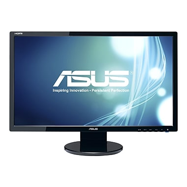 Asus VE248H 24in. Black LED-Backlit LCD Monitor, HDMI, DVI