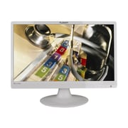 "PLANAR PLL2210MW-WH 22"" White LED-Backlit LCD Monitor, DVI"