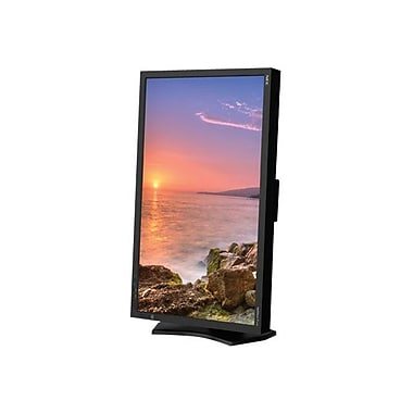 NEC MultiSync P232W-BK - LED monitor - 23in.