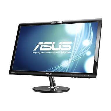 Asus VK228H-CSM 21.5in. Black LED-Backlit Monitor, HDMI, DVI