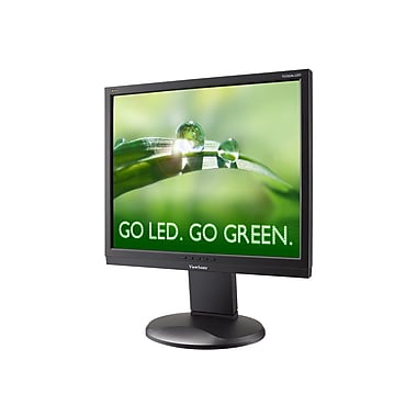 ViewSonic VG932M-LED 19in. Black LED LCD Monitor, DVI