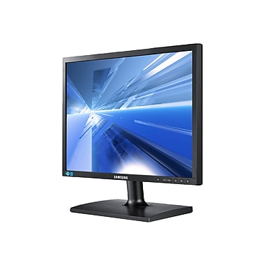 Samsung S19C200BR 19in. LCD Monitor, Matte Black