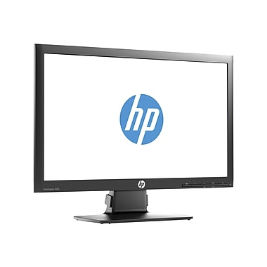 HP ProDisplay P201 20in. Black LED-Backlit Monitor, DVI