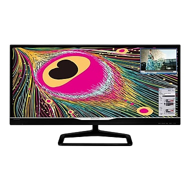 Philips 298X4QJAB 29in. Black LED LCD Monitor, HDMI, DVI