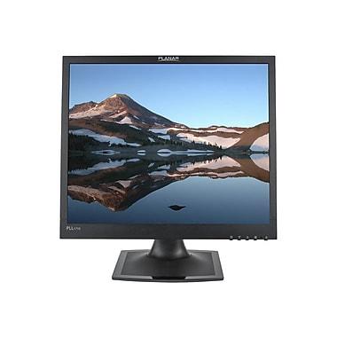 PLANAR PLL1710 17in. Black Edge-Lit LED LCD Monitor, DVI