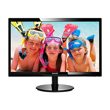 Philips 246V5LHAB 24in. Black LCD Monitor, HDMI