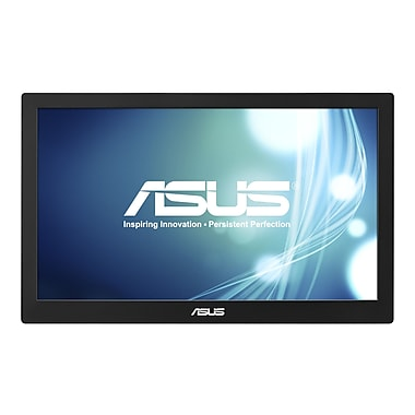 ASUS MB168B 15.6in. LED Monitor, Black/Silver