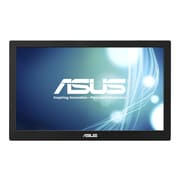 "ASUS 15.6"" LED-Backlit LCD Monitor - MB168B - Black/Silver"