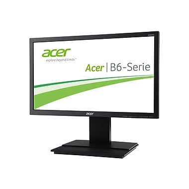 Acer B206HQLymdh 19.5in. LCD Monitor, Dark Gray
