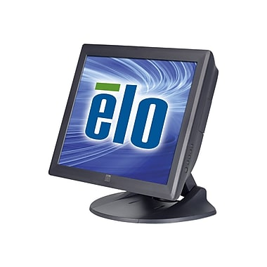 ELO 1729L 17in. Black LCD Touchscreen Monitor, DVI