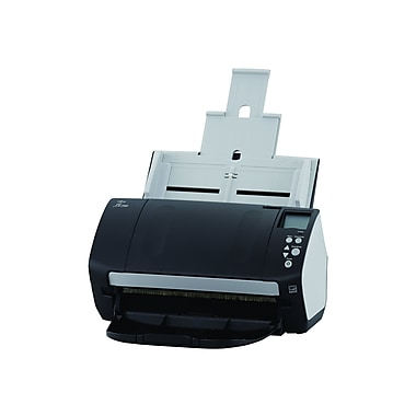 Fujitsu fi-7160 Document Scanner, Black/White